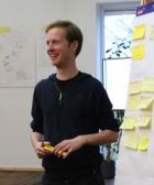Yanniek Huisman, Programma coördinator bij Rotterdam The Hague Innovation Airport