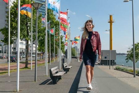 'De corona-uitbraak in China maakte mijn stage in Brussel extra spannend' - Melissa